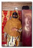 Mujer Beduina en su casa en el desierto de Wahiba - Beduin woman in her Wahiba desert home