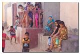 Niños en las calles de la ciudad - Children in the city streets