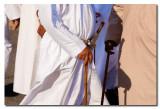 Omani con baston y Daga - Omani with walking stick  and dagger