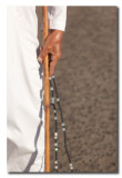 Omani con cuentas y baston - Omani with beads and cane