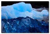 Dos tipos de hielo en los icebergs  -  Two types of ice on the icebergs