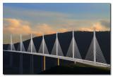 Vista completa del Viaducto de Millau