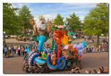Carroza de la Sirenita  -  Little Mermaid float