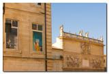 Fachadas frente al Palacio de los Papas