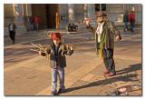 El mago y el niño de los bastones  -  The Magician and the canes