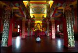 Meditation at a Buddhist Temple