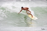 Baler surfers up close with the Sigmonster