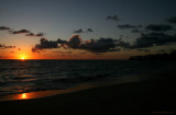 Sunrise over Bavaro Beach