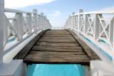 Bridge over Hibiscus Lodge Pool