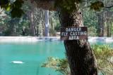 Danger Fly Casting Area