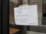 Doorway Not For A, B