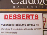 Vulcano Chocolate Suffle