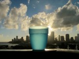 Blue Water Cup