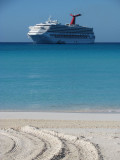 Carnival Destiny at Half Moon Cay