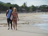 Playa Dorada Beach Goers