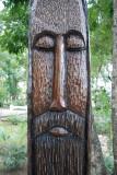 Parque de Los Tres Ojos Wood Carving