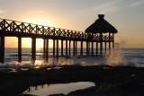 Grand Mayan Pier at Sunrise