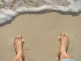 My Toes in the Sand