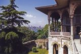 Topkapi Palace:  The Portico of the Baghdad Kosk