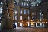 Blue Mosque: Carpeted Interior
