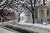 Snow Fall on Main Street, Warrenton