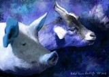 Princes Drawing School - Goat & Pig