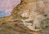 Doggy Dreams in Petra -2