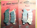 Left and Right side front pads