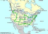Sheila's ride of the lower 48 in 10 days
