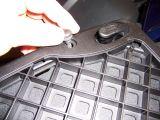 Removing grommet on Givi E250 universal mount