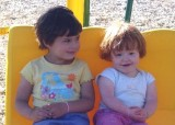 Monnie's granddaughters Faith & Claire  #1