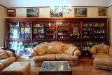 Antique case in living room