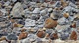 Stonework detail of 1st floor MBR foundation