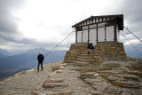 Lookout tower at 8300' Glacier National Park