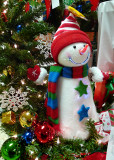 SNOWMAN AT A CRAFTS SHOW - ISO 400