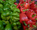 GREEN AND RED PEPPERS - ISO 200