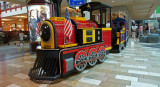 MALL TRAIN  -  ISO 400 - HAND-HELD AT 1/25 SECOND