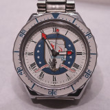 RUSSIAN NAVY COMMEMORATIVE WATCH  -  LX5 WITH RAYNOX 250 MACRO LENS