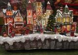 CHRISTMAS DECORATION  -  ISO 800  -  ASHEVILLE, NORTH CAROLINA  CRACKER BARREL