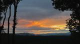 EARLY FALL MOUNTAIN SUNSET IN WESTERN NORTH CAROLINA  -  ISO 80