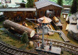 MODEL RAILROAD LAYOUT - ISO 800