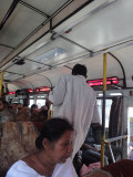 dude blessing the bus