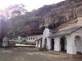 rock temples facade