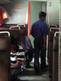 the train back to Colombo