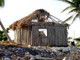 Hurricane torn cabana