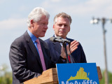 Bill Clinton and Terry McAuliffe