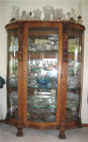 Another shot of our China Cabinet