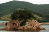 Adm Lee Took off his Robe in this island.JPG