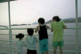 Kids in the ferry to Hansando island.JPG