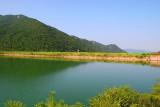 Lake Bokgok on the mountain top